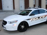 University Police patrol car