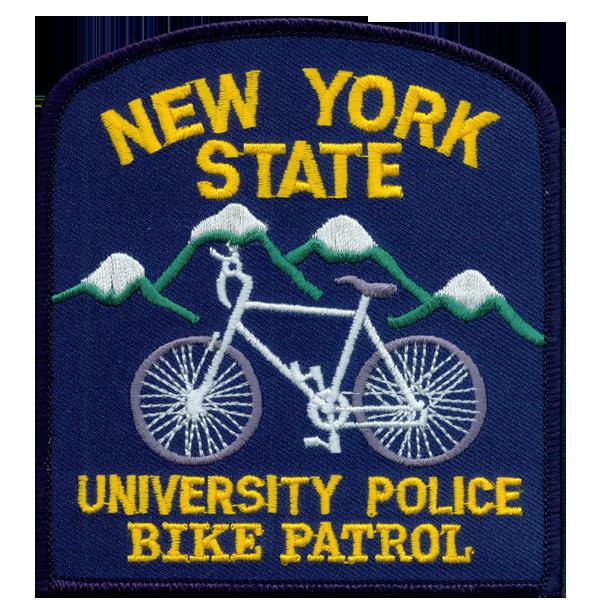 University Police patch bike